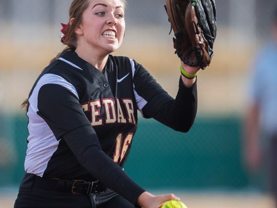 Cedar's Kenzie Waters showed out with a 17-0 regular season record in 2019, which is why she's our Player of the Year.