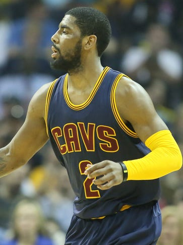 Cleveland Cavaliers guard Kyrie Irving  has adjusted