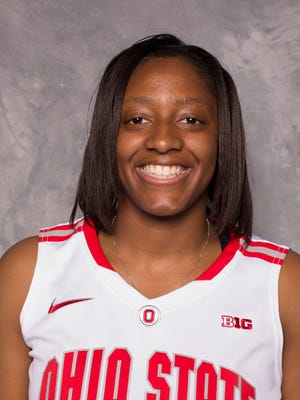 Kelsey Mitchell leads the nation in points per game in Division I women's basketball this season.