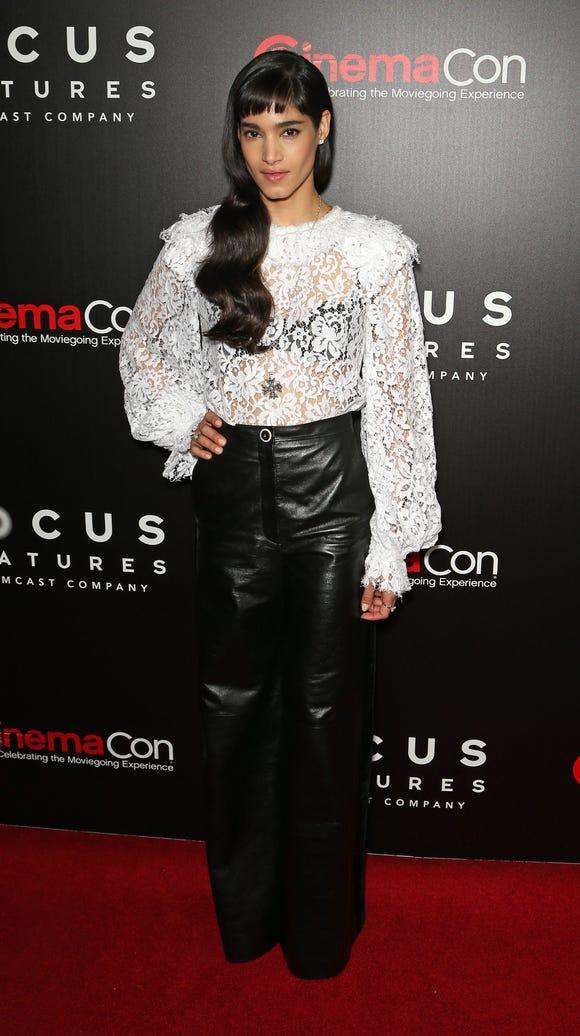 Sofia Boutella at CinemaCon.