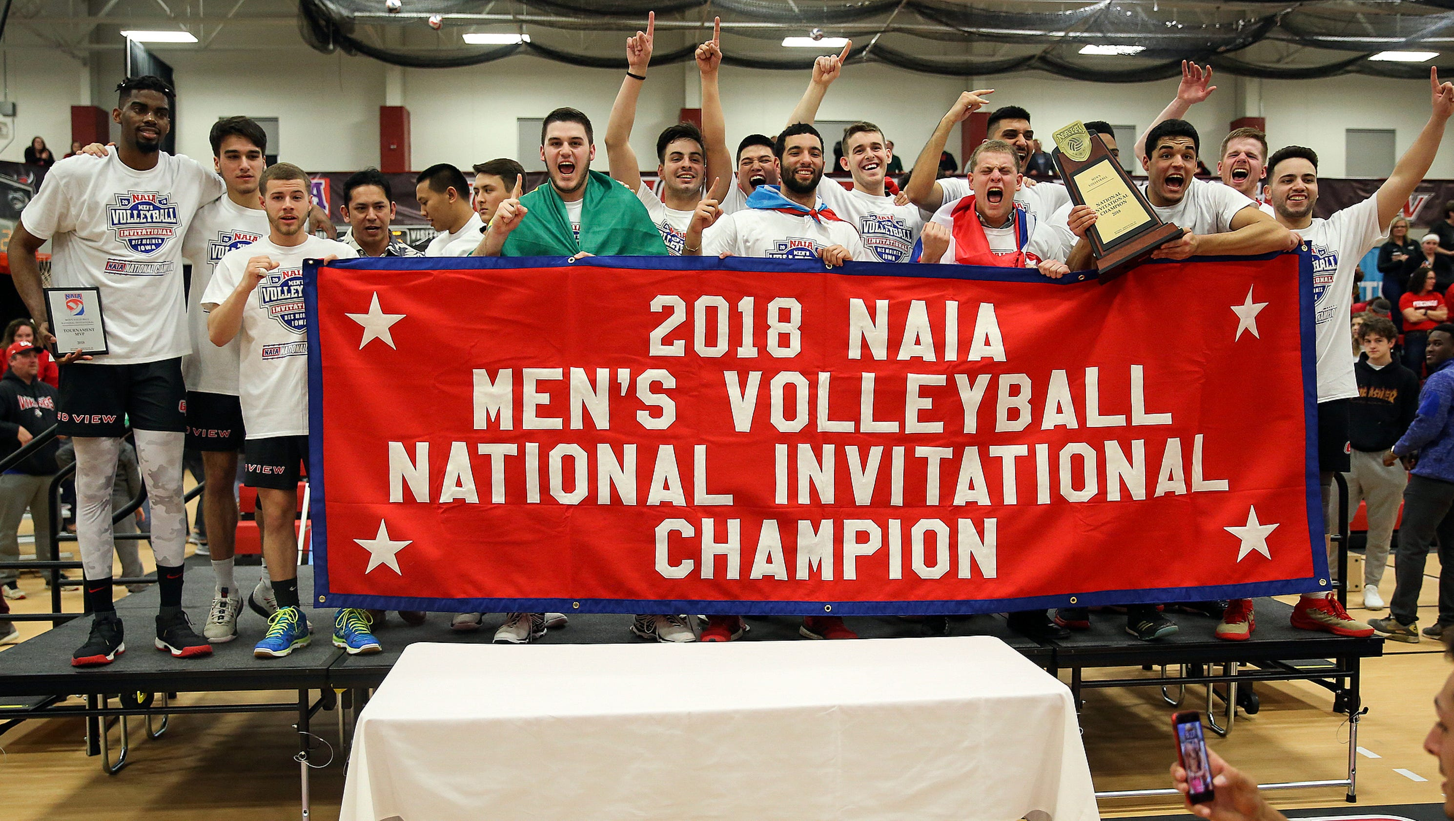 Grand View men's volleyball wins first NAIA national title