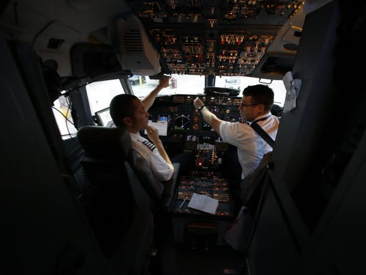 AP FIRST FLIGHT F USA TX