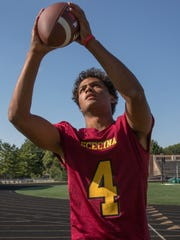 Scecina receiver David Baker is one of the top playmakers