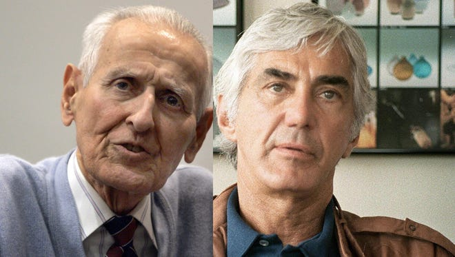 Jack Kevorkian, left, went to jail for assisting suicides. The John DeLorean story will touch on his rise in the auto industry.