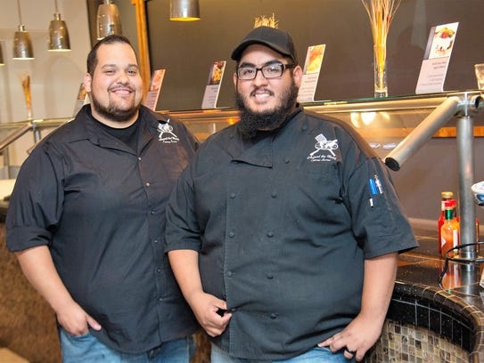 Chris Morrill, left, and Santiago Reyes, chefs and