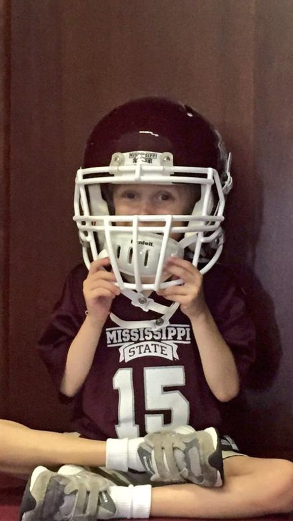 Mississippi State fan Campbell Dale died Friday after