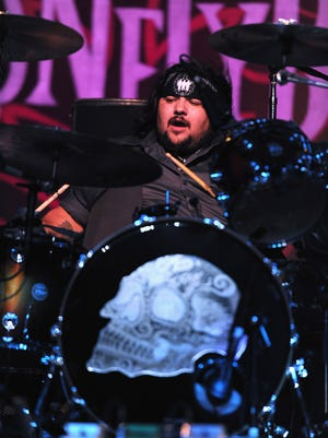 Ringo Garza, Jr. of Los Lonely Boys performs at a concert at The Greek Theatre on July 29, 2011, in Los Angeles, California. (Photo by Alberto E. Rodriguez/Getty Images)