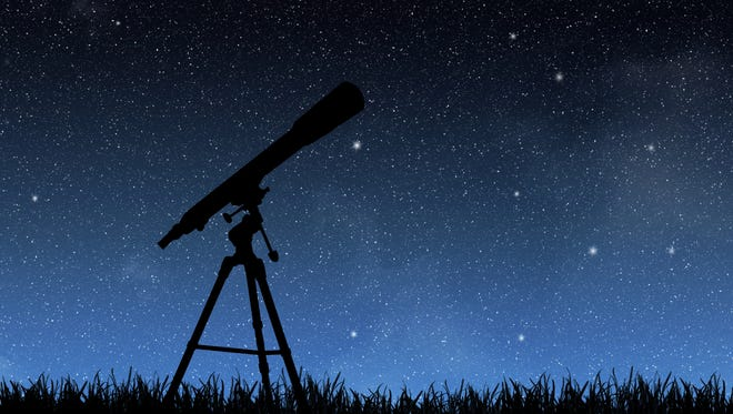 If you would like to look through a telescope, the Astronomical Society of Las Cruces will have an array of telescopes in front of the International Delights Café, 1245 El Paseo Road, in Las Cruces on Saturday, Jan. 16, starting at dusk and running for about two hours, weather permitting.