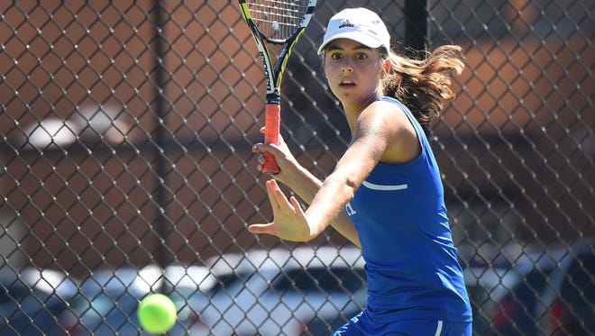 Ashley Hess moved one step closer to the state finals on Saturday, Oct. 14.