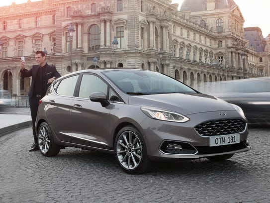 2017 Ford Fiesta, European edition