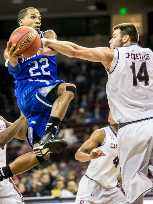 NCAA Basketball: NC-Asheville at South Carolina