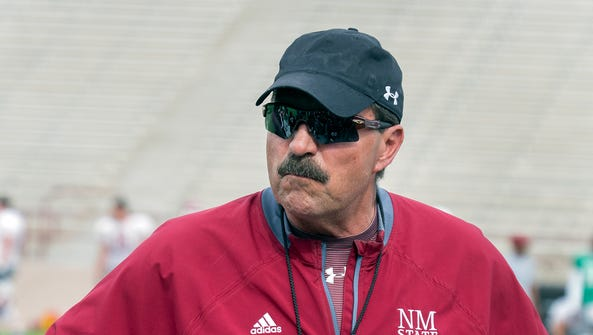 Frank Spaziani begins his second year as New Mexico