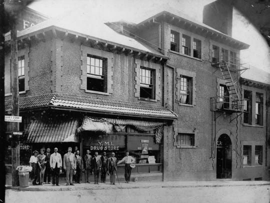 The YMI and Asheville Supply & Foundry, 1891.  Hilton