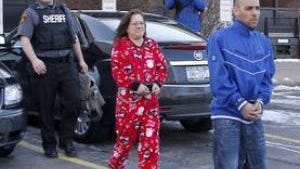 Janine Plaza-Pierce after her arrest on drug trafficking charges.