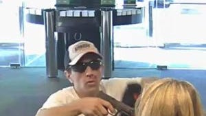 Police say this man robbed three area banks recently.