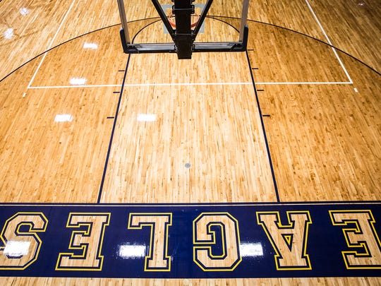Delta High School finished replacing its gym floor