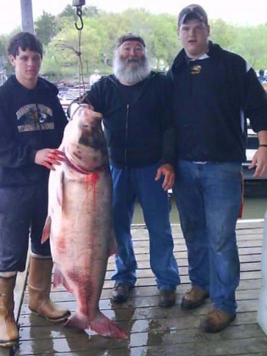 Record bighead carp