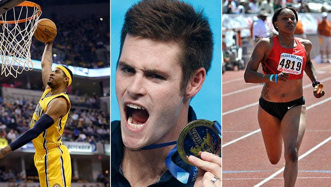 Paul George, David Boudia and Candyce McGrone are three Indiana athletes to watch heading into the 2016 Olympics.