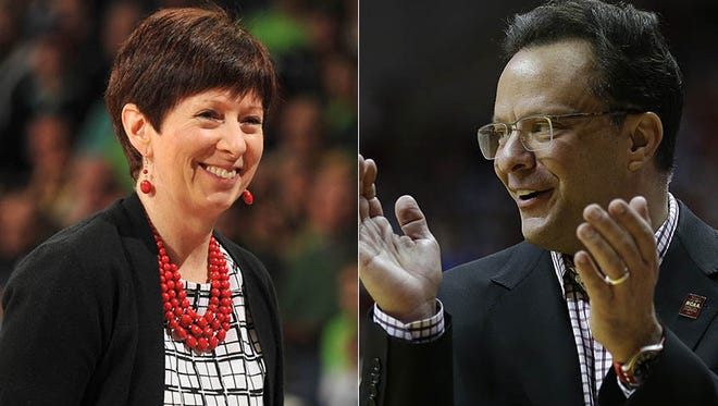 Notre Dame women's basketball coach Muffet McGraw and IU men's basketball coach Tom Crean gave advice to minority assistant coaches from across the nation on Wednesday.