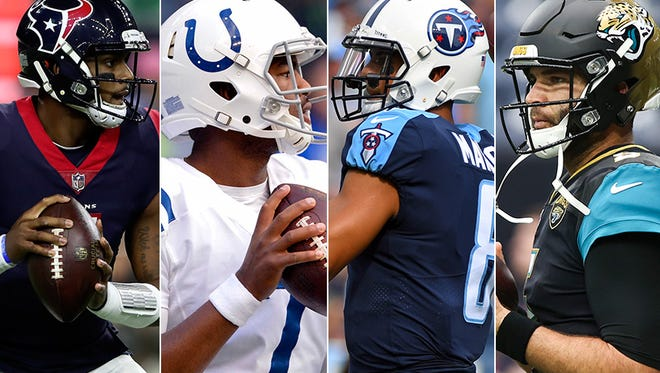 The AFC South is anyone's race.