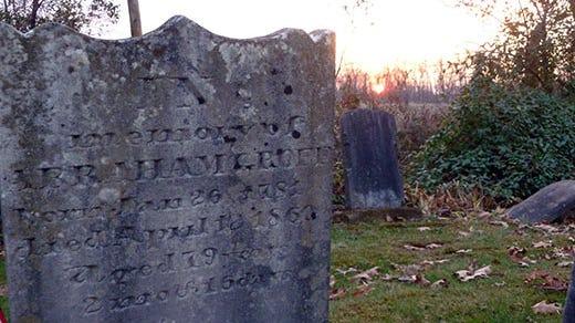 Bender Cemetery Warrington Township PA