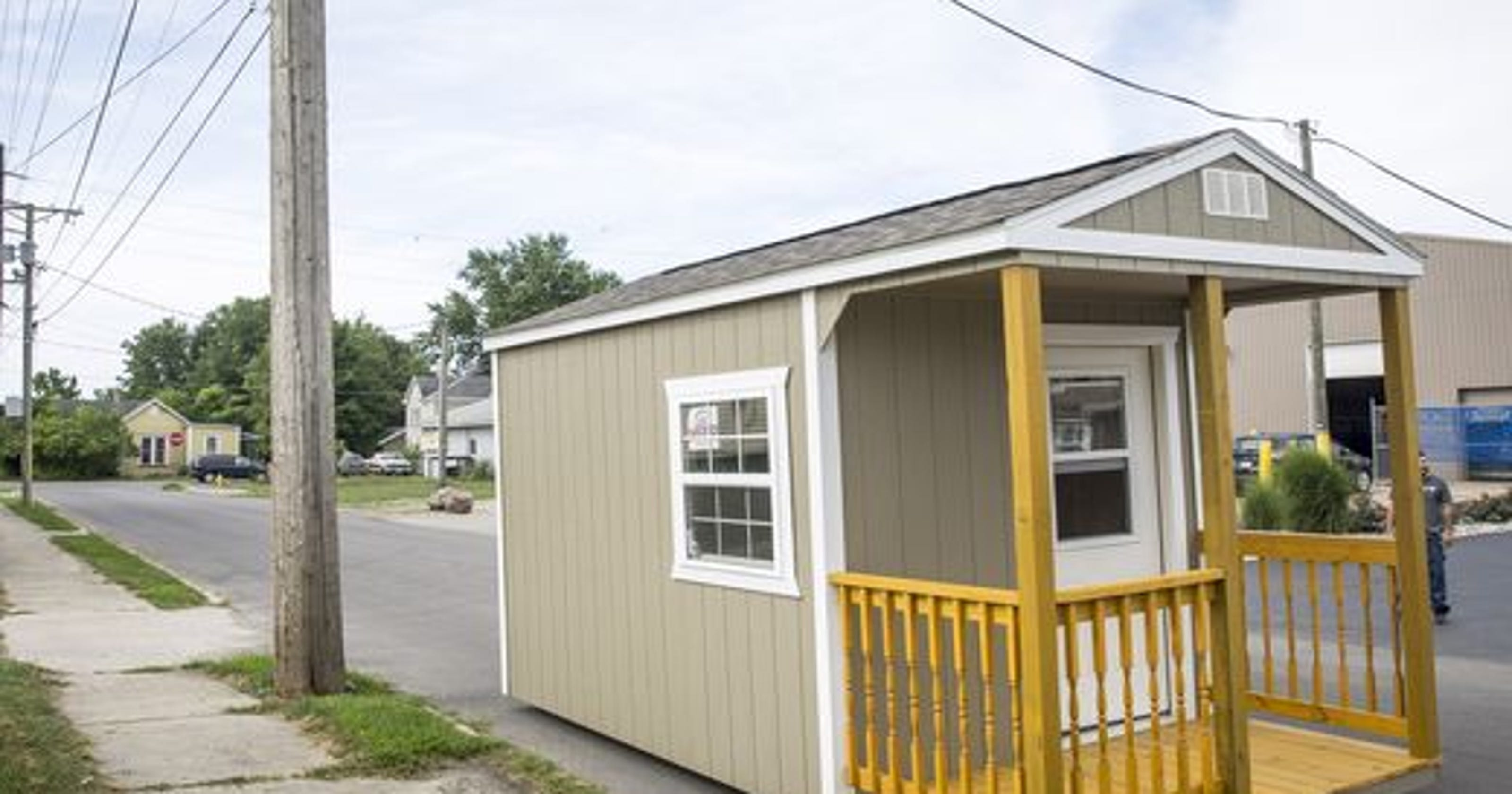 Indianas First Tiny Homes For Homeless Arrive In Muncie