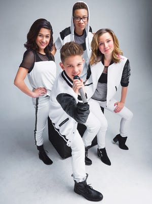 New Jersey's Matt Martinez, with the hoodie, is a member of KidzBop, coming to Count Basie Theatre Nov. 8.