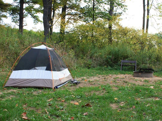 A good backpacking tent, like this Kelty Salida 2,