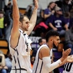 Demps leads Northwestern to 77-35 rout of Chicago State