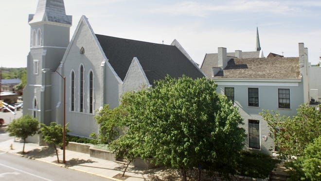 St. John's Episcopal Church in downtown Lafayette was a stop on the Underground Railroad.