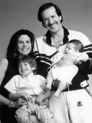Mesa Neighborhood residents Palm Springs Mayor Sonny with Mary Bono and their children c. 1991.