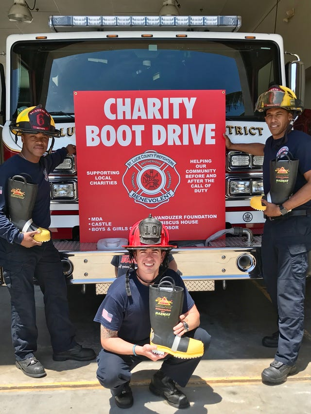 Annual firefighter Boot Drive gearing up