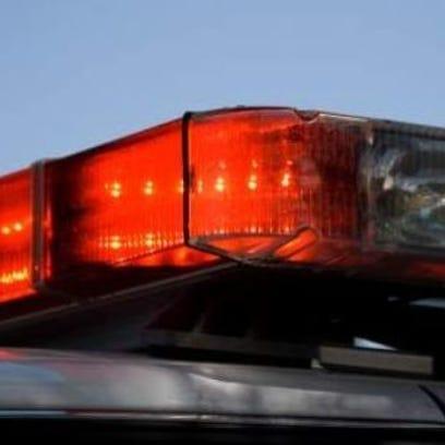 Police squad car lights