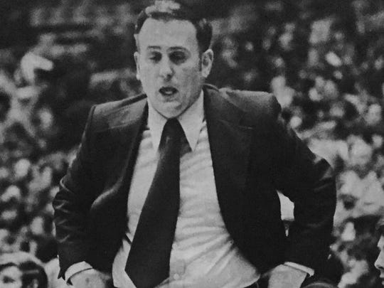 CBA coach Vinnie Cox won five state championships coaching the Colts between 1962 and 1980.