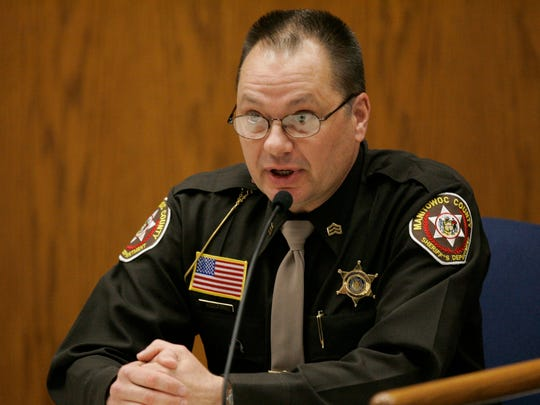 Manitowoc County Sheriff's Sgt. Andrew Colborn.