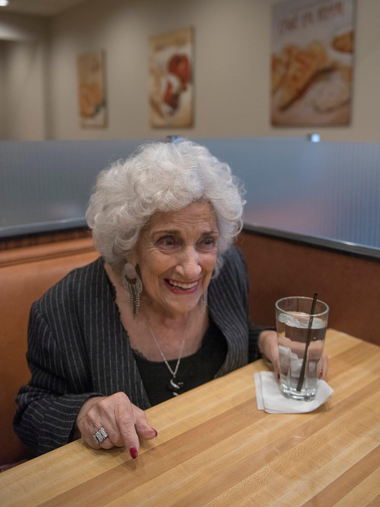 At 92 Olga Loizon Still Loves Her Restaurants