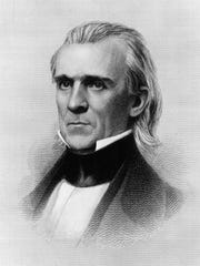 James K. Polk, the eleventh president of the United States.