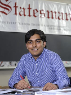 Pranam Dey is the managing editor for the Statesman at Lincoln High School. He plans to stay involved in the student newspaper when he goes to college.