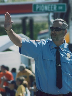A reccent photo of Wojnowski before retiring in March after a knee replacement surgery. Before retiring, Wojnowski served at the Tess Corners volunteer fire department for 37 years, and served as chief for 24 years.