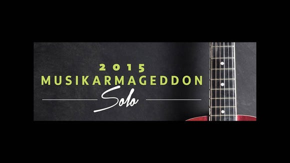 Musikarmageddon Solo will be held at the baby grand in Wilmington Friday night.