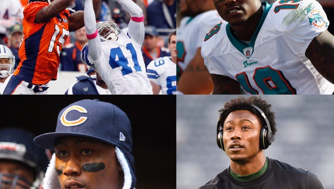 The Giants will be Brandon Marshall's fifth team in his 12-year career.