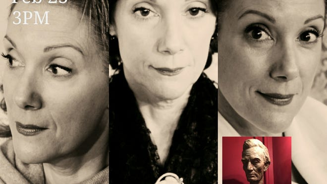 """Patricia Durante portrays three women who were present at the assassination of Abraham Lincoln in """"Inside the Box: From Her Perspective"""" by Lori Strelecki. The show will be staged this Sunday, February 25, as a fundraiser at Women's Theater Co. in Parsippany."""