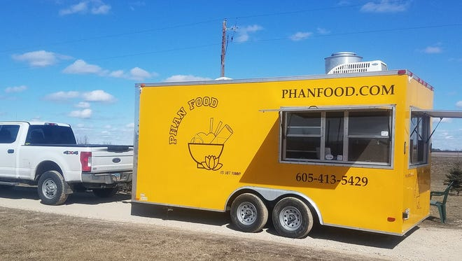 Phan Food, a new Vietnamese food truck that will start operation this summer.