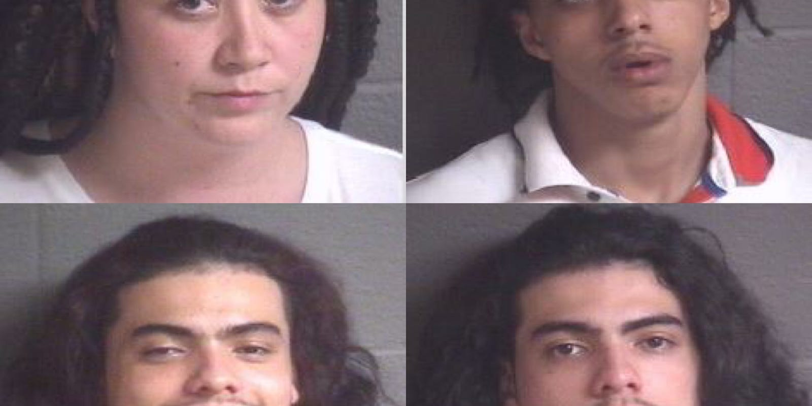Angela Is The Fireworks Woman asheville police arrest 4 in alleged fireworks assault on