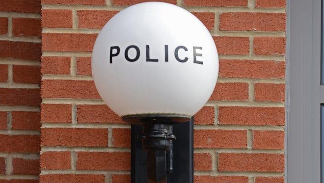 Denville Police Department light.