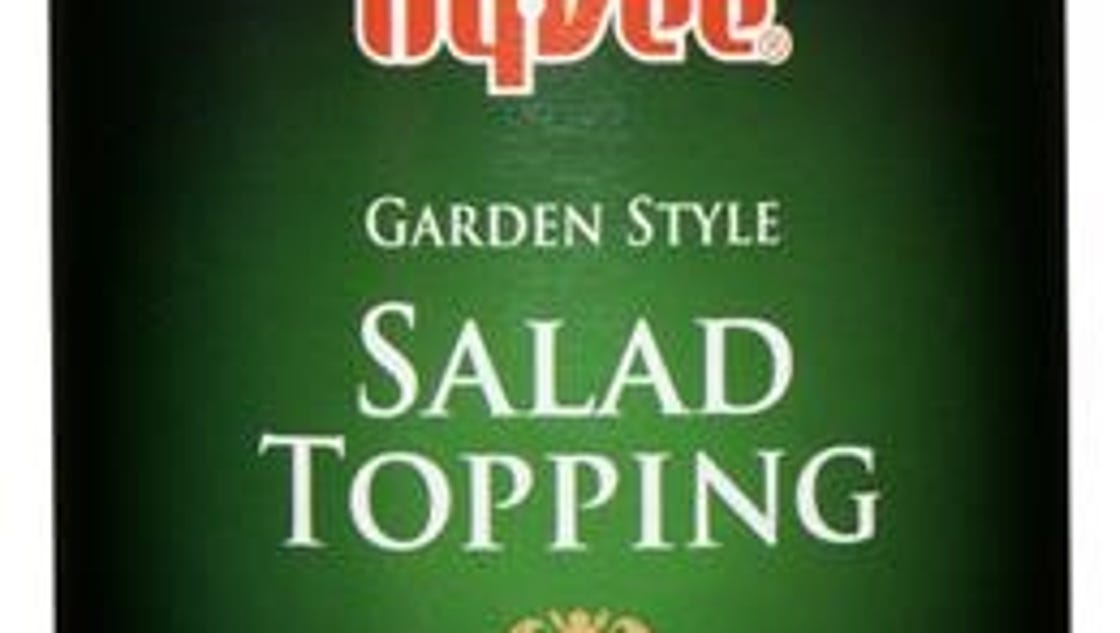 Hy-Vee recalls salad topping, trail mix