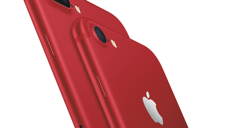 Red special edition iPhone 7 Plus and iPhone 7.