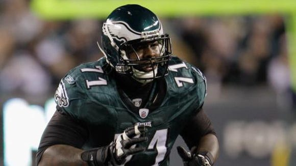 Jason Peters will count $11.7 million against the salary cap for the Eagles.