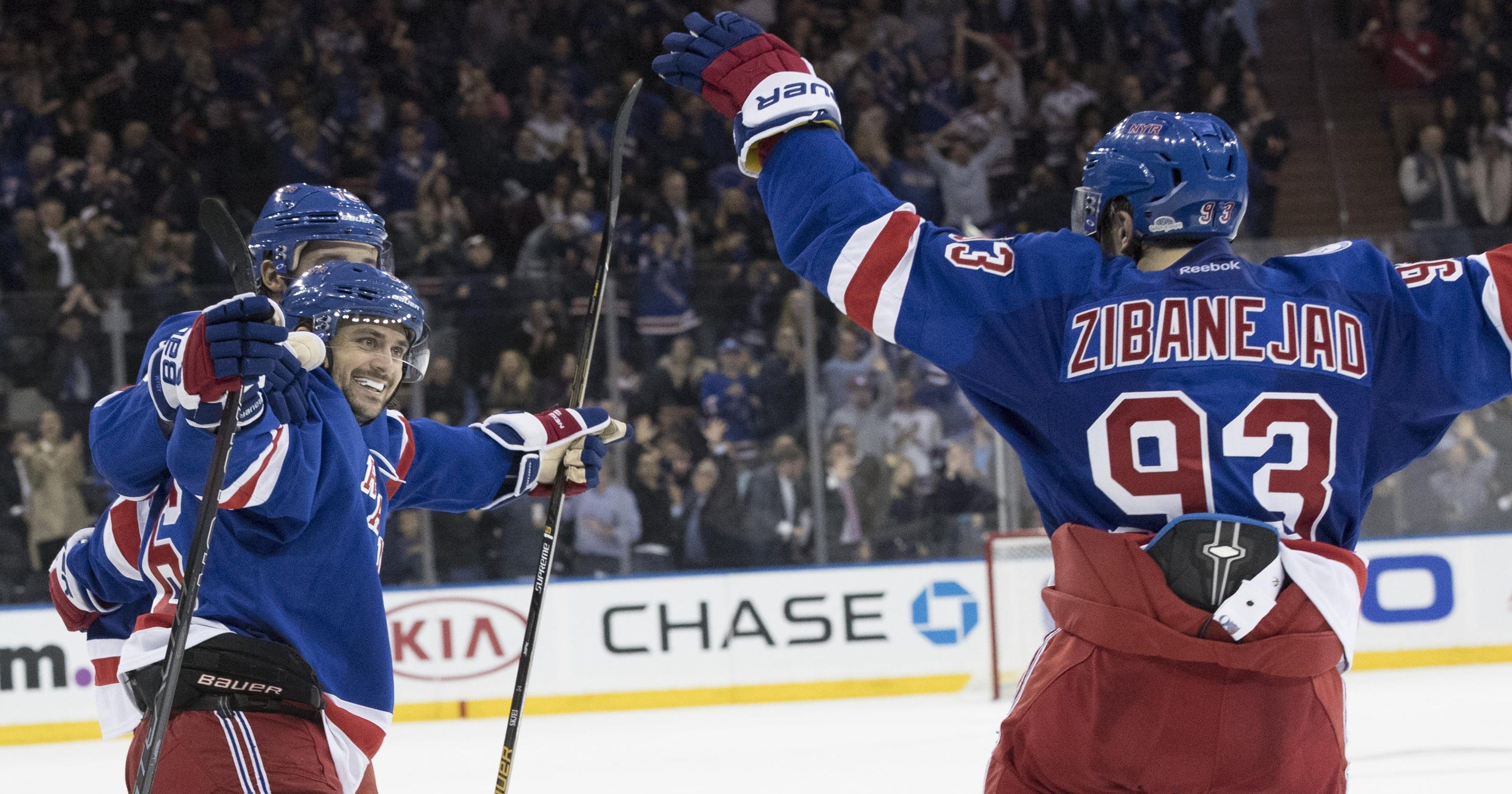 New faces lead Rangers over Islanders 4c2235e26