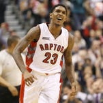 Toronto Raptors guard Lou Williams (23) was voted the Sixth Man of the Year in the NBA.